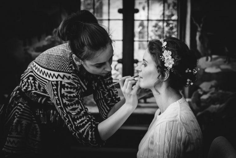 Bridal Prep Port Lympne Hotel Wedding